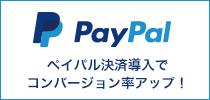 PayPal(ペイパル)決済導入でコンバージョン率アップ!